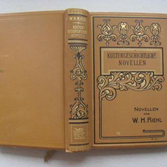 Rulturgeschichtliche novellen 1912