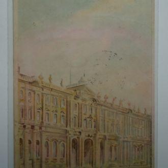 императорский дворец напросвет Николай 2-й  1900 г