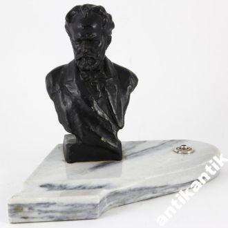 Письменный прибор с бюстом  П.И. Чайковского СЧЛЗ