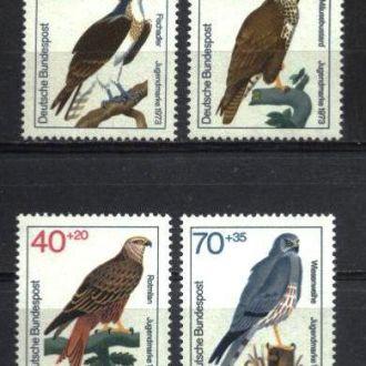 Германия Фауна Птицы 1973 MNH