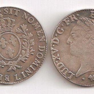 Монета Франция 1774 Луи XVI