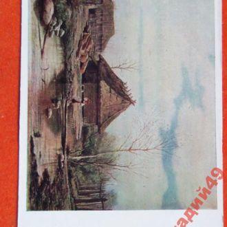открытки(пейзаж) антикварные-худ Брюллов