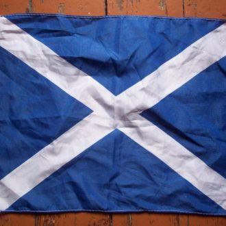 Флаг Шотландии 45х30 см.