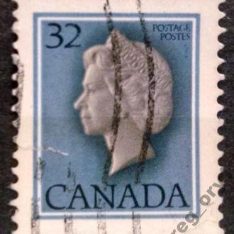 марки Канада стандарт Елизавета с 1 гривны
