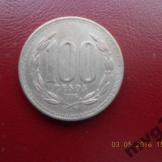 Чили,100 песо,1996 год.