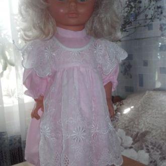 красивая кукла, раритет, клеймо,52 см