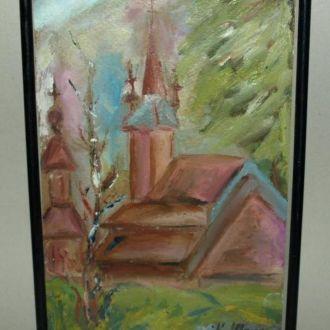 Сельская церковушка, 80-90е гг. К. Данко-Шолтес.