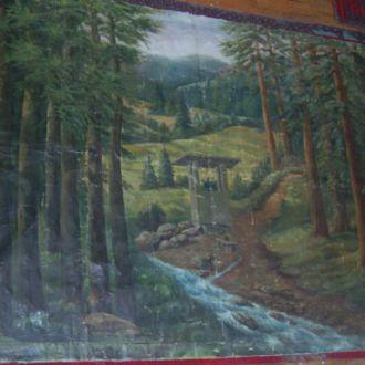 Огромная картина Кобылянская поляна,57г,Притула М.