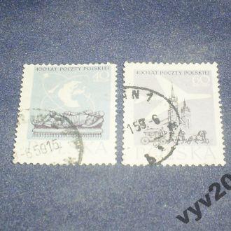 Польша-1958 г.-Самолет, карета