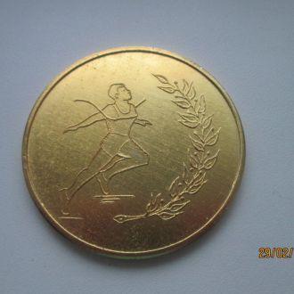 Медаль настольная спорт клуб Метеор