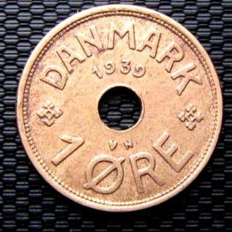 Дания 1 эре 1939 год