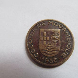 Португальский  Мозамбик   10    сентавос  1936 год