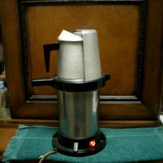 Кофеварка СССР, с подогревом