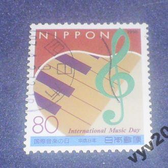 Япония-1996 г.-Международный день музыки (полная)