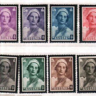 ZM Бельгия 1935 г MVLH - Королева Астрид