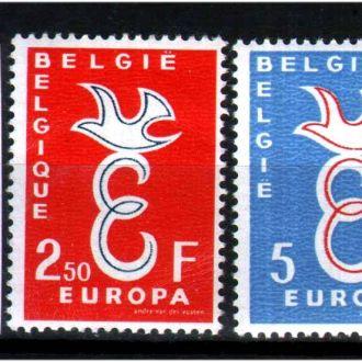 ZM Бельгия 1958 г MNH - Европа