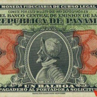 Панама 1 балбоа 1941 год. КОПИЯ