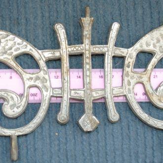 Масивна накладка на меблі, граммофон Бронза нікель
