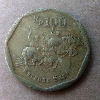 Индонезия 100 рупий 1997 (#13)