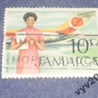 Ямайка-1972 г.-Самолет