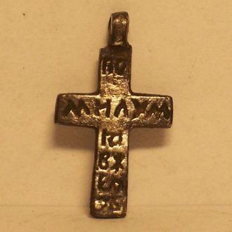 Казацкий крест, серебро, Украина, 1640-1680ые