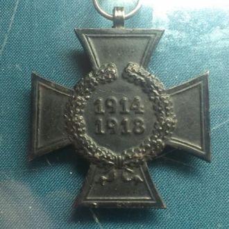 "Крест Гинденбурга, ""вдовий"" крест, ПМВ."