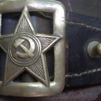 офицерский ремень,  обр.1935г., РККА, СССР