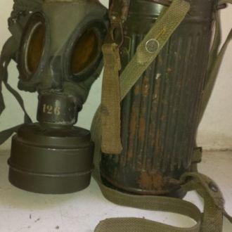 противогаз Wehrmacht, вермахт, 3 рейх, ВОВ.