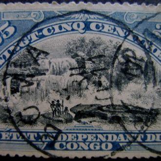 Конго. Водопад