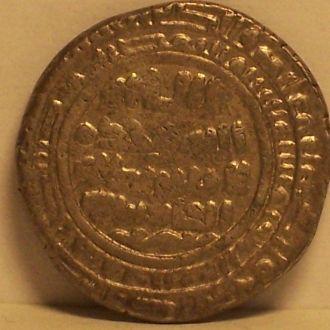 Куфический дирхем, серебро, 12-13 век.