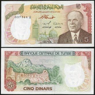 Tunisia / Тунис - 5 Dinars 1980 - UNC - OLM-OPeN