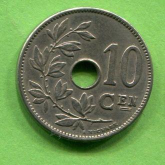 Бельгия 10 сантимов 1906 г