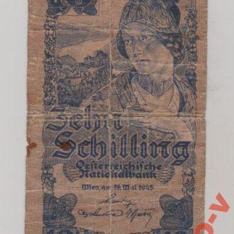 Австрiя , 10 шилінгів 1945 р.