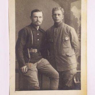 Командиры РККА или ЧК с орденом, Казань,1920 год
