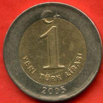 1 лира 2005