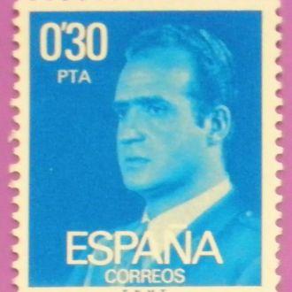 Испания. 1977 г. Король Хуан Карлос