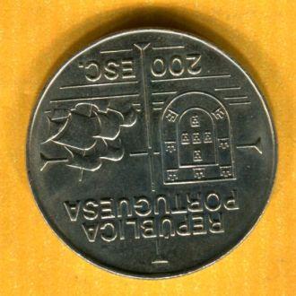 Португалия 200 эскудо 1992  Парусник Корабль