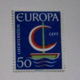 лихтенштейн europa cept  А3
