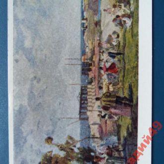 открытки(пейзаж) антикварные-худ Садовская1958г