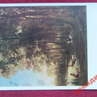 открытки(пейзаж) антиквар-худГаккерт 1968г