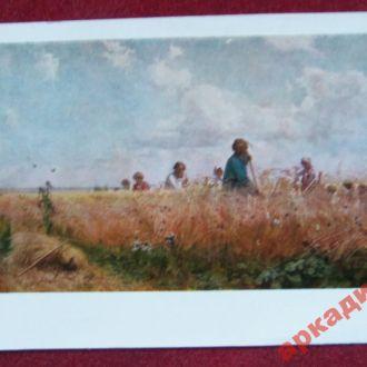 открытки(пейзаж) антиквар-худ Мясоедов 1959г
