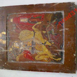 икона Георгий Победоносец (ковчег)