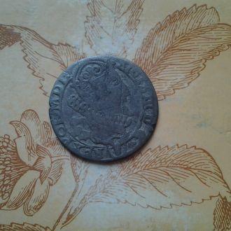 Средневековый шестак/6 грошей Сигизмунда .Серебро