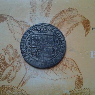Средневековый орт/18 грошей Сигизмунда .Серебро