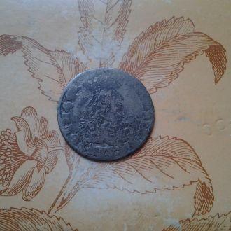 Средневековый шестак/6 грошей Казимира .Серебро