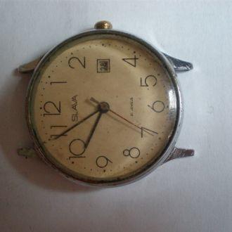 часы Слава интересная модель рабочие 28064