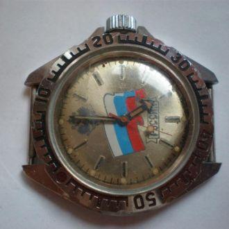 часы Восток Командирские рабочий баланс СССР 08128