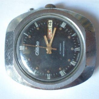 часы Слава АВТОМАТ интересная модель 11075