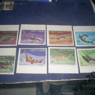 Вьетнам-1984 г.-Рыбы (полная) б/з 10 евро