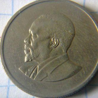 монета 50 центов Кения 1968 г.